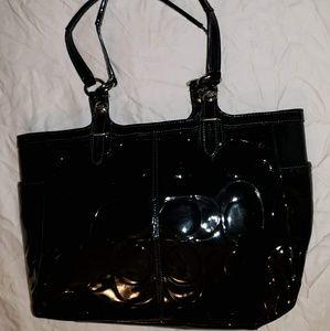 Coach Authentic C embossed bag